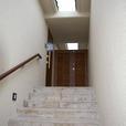 ビラへの階段